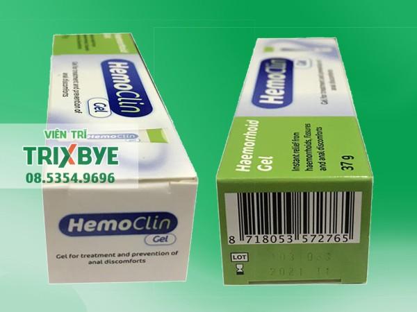Thuốc Hemoclin Gel
