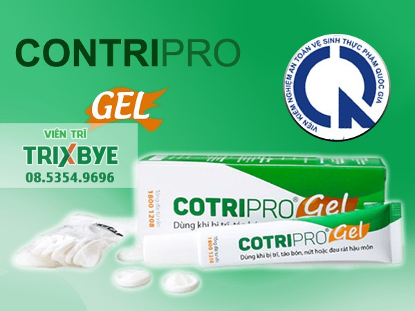 Thuốc Cotripro Gel