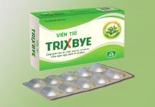 Hình ảnh hộp và vỉ Trixbye