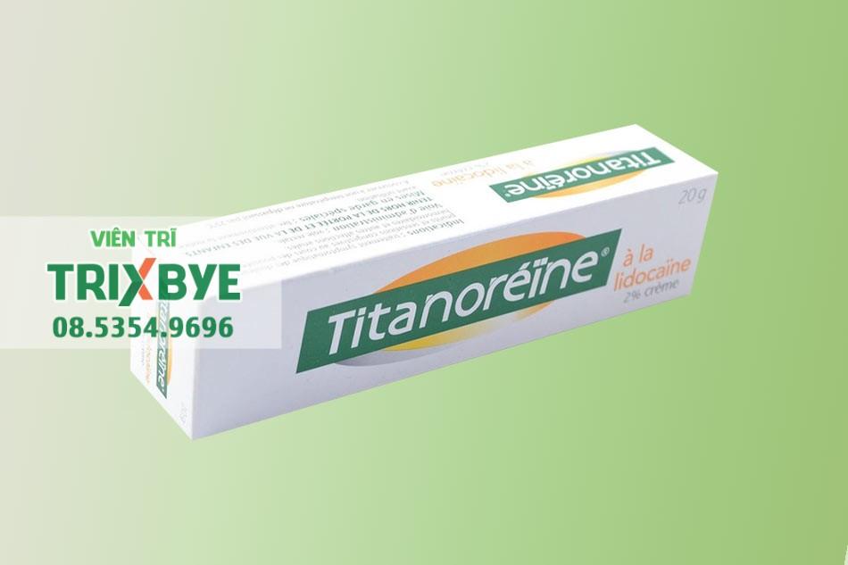 Hình ảnh hộp kem bôi trĩ Titanoreine