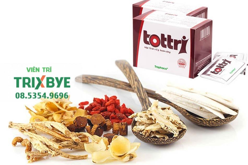 Tottri có nguồn gốc thảo dược thiên nhiên