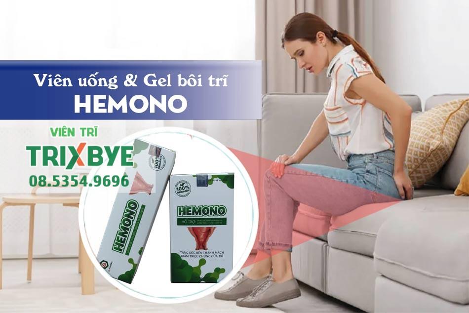 Viên uống và Gel bôi Hemono