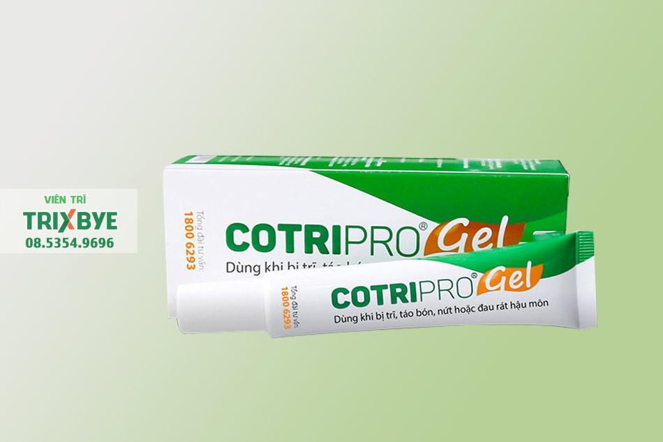 Gel bôi tiêu trĩ Cotripro Gel của Việt Nam