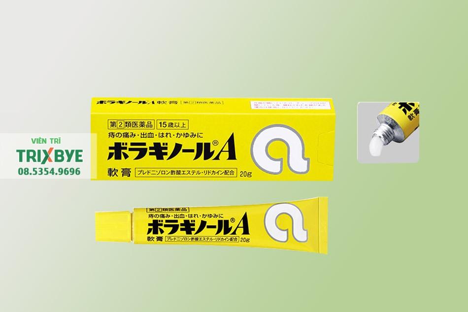 Thuốc bôi trĩ chữ A của Nhật Bản
