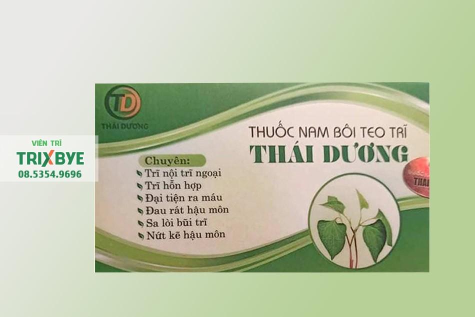 Thuốc nam bôi teo trĩ Thái Dương