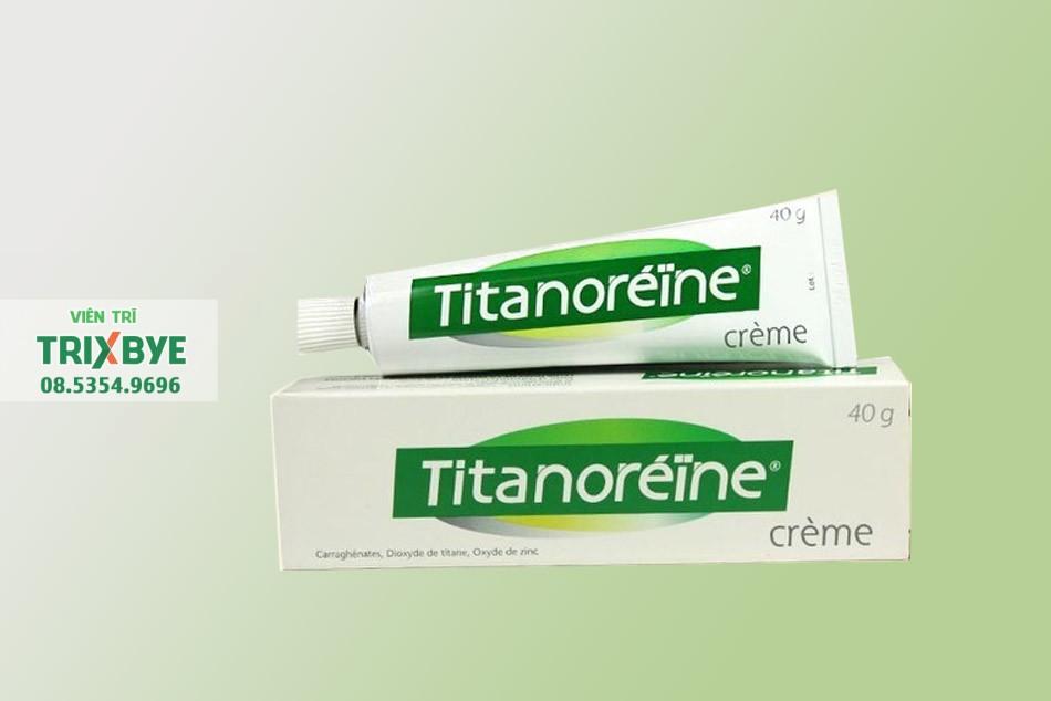 Thuốc bôi tiêu trĩ Titanoreine của Pháp